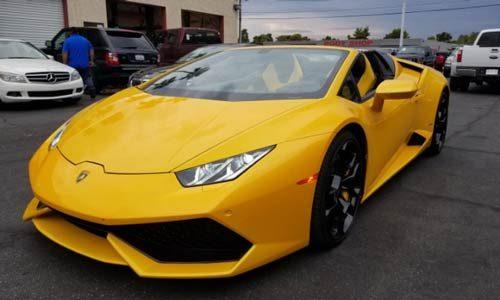 Lamborghini Huracán Convertible