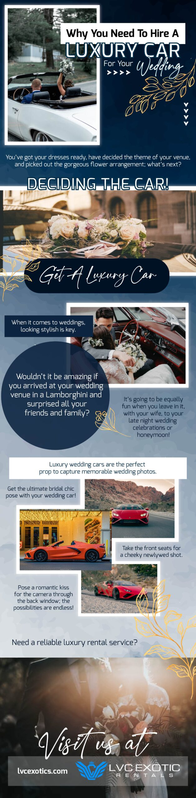 Luxury Car For Your Wedding