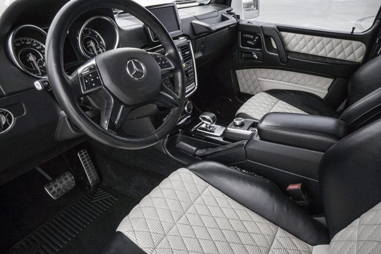 Mercedes G-63 interior