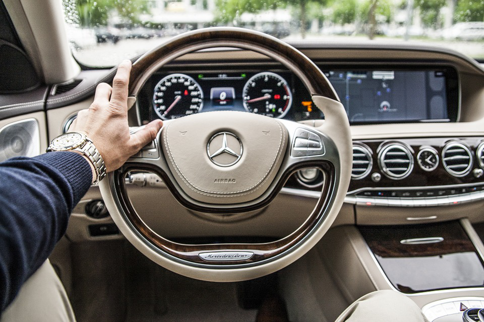 Mercedes G63 interior