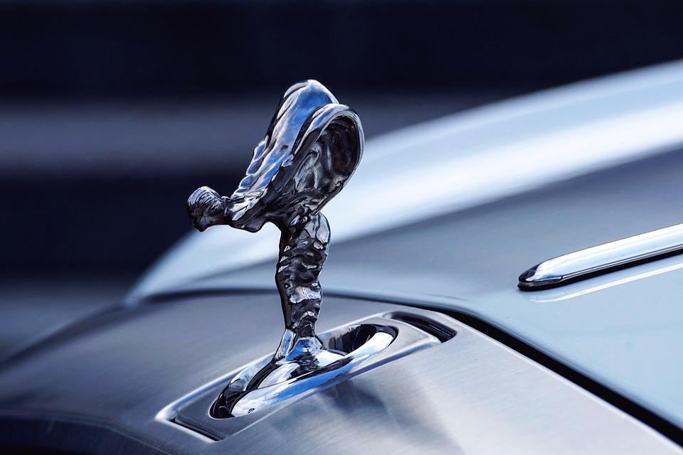 Rolls Royce bonnet