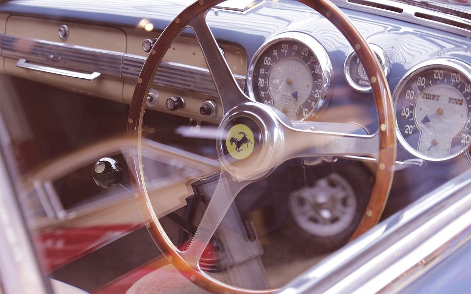Vintage Ferrari Interior