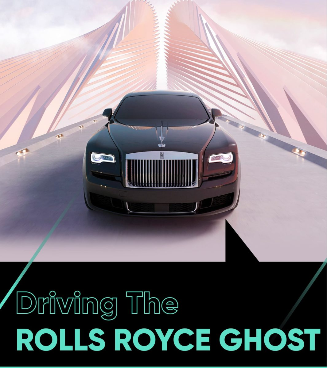 driving rolls royce ghost